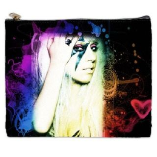 Just Dance Lady Gaga Collectible Photos High Quality Cosmetic Bag