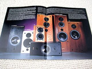 Axiom AX series speaker full product line brochure