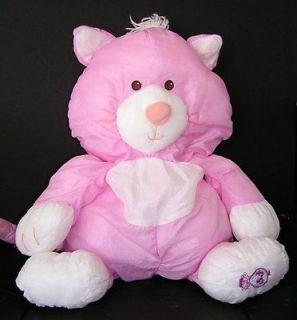 Vintage HTF Fisher Price Puffalump Baby Doll Pink Purple Cat Kitten