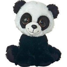 stuffed animal plush 10 PANDA BEAR DREAMY EYES aurora