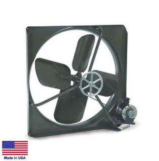 EXHAUST FAN Commercial   Belt Drive   30   115V   1/2 Hp   1 Speed