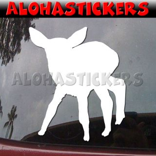 FAWN Baby Deer Yearling Car Truck Laptop Moped Vinyl Decal Window