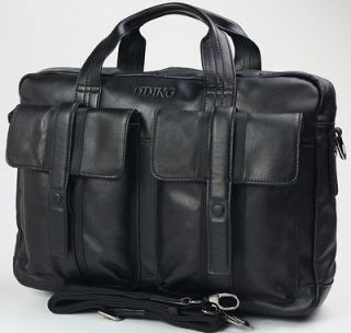 Leather Briefcases 16 Laptop Bags Messenger Business Cases TIDING
