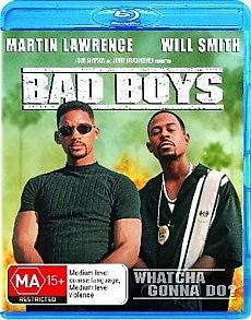 Bad Boys (Will Smith, Martin Lawrence) BLU RAY Region B *NEW / SEALED*