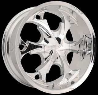 Alloy Tech Car Wheel Rim AT957 Chrome 17 inch 4 Lug