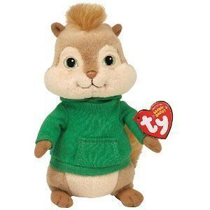 Ty Theodore from Alvin and the Chipmunks Beanie Babies Stuffed Plush