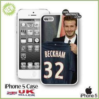 DAVID BECKHAM PSG Paris St Germain Football New Case iPhone 5 5G