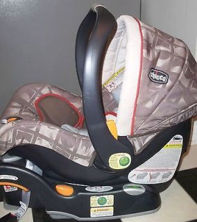 Chicco KEYFIT KEYFIT30 Baby Car Seat Base LUNA Pattern Exc Cond