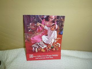VINTAGE AVON MINI CATALOGUE CHRISTMAS Campaign 18 1967