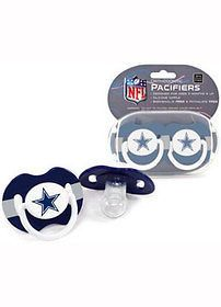 Dallas Cowboys Pacifier 2 Pack (2010)   New   Sports Merch