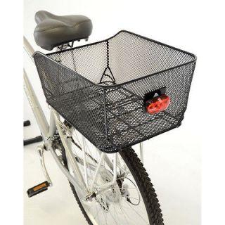 2012 Axiom Market Mesh Cycling Bicycle Shopping Rear Pannier Basket