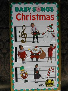 Baby Songs Christmas [VHS]
