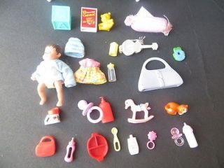 Mattel Barbie baby Krissy doll & accessories