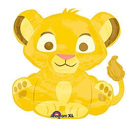 Lion King 25 Newborn Celebration Baby Shower Party Mylar Foil Balloon