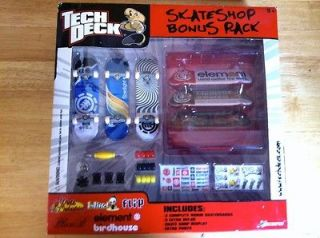 Tech Deck Skate Shop bonus 6 Pack Element New in box RARE