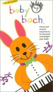 Baby Einstein   Baby Bach Musical Adventure (VHS, 2002)