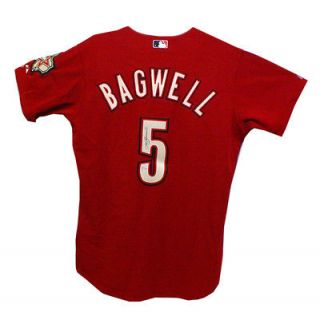 JEFF BAGWELL SIGNED AUTOGRAPHED HOUSTON ASTROS JERSEY MLB