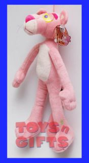 NEW 14Pink Panther Plush Doll Stuffed Animal Toy w/Tag