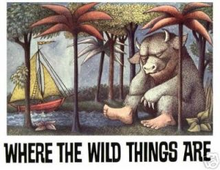 Where the wild things are 5X7 T Shirt Iron on #1
