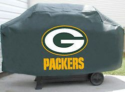 Green Bay Packers Deluxe Heavy Duty Barbeque BBQ Grill Cover NFL