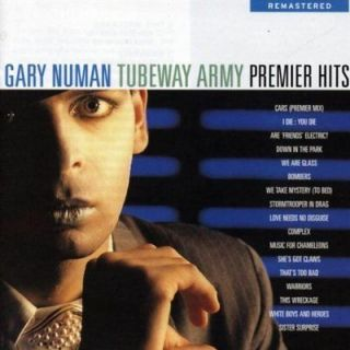 GARY NUMAN AND TUBEWAY ARMY: Premier Hits CD NEW