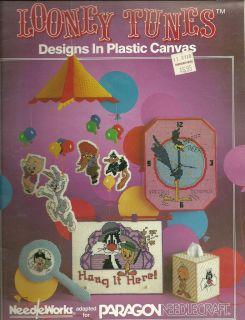 Looney Tunes Designs in Plastic Canvas by Paragon Needlecraft