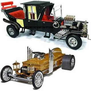 KOACH & DRAGULA Ertl Auto World George Barris 118 Diecast Cars Set 2