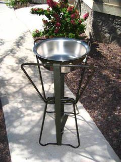 USGI Wash Basin Stand w/Basin Genuine Military Issue   NEW   FREE U.S