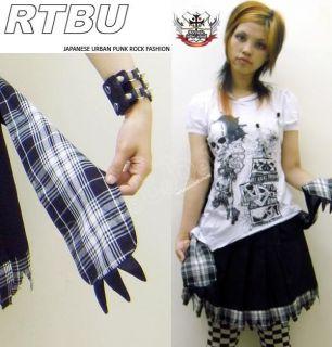 Punk Monster Gloomy Bear CLAW PAW Pleated skirt+Pocket