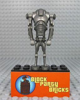 Lego Star Wars Super Battle Droid 7681 8091 Metallic Rare Minifigure