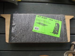 JET SLED WOOD SEAT ATTACHMENT BRAND NEW