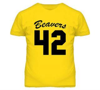 Teen Wolf Beavers Movie T Shirt