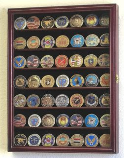 Marines Police Challenge Coin Display Case Holder Rack