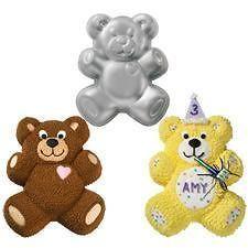 Wilton Teddy Bear Heart Cake Pan 2105 1193 Panda