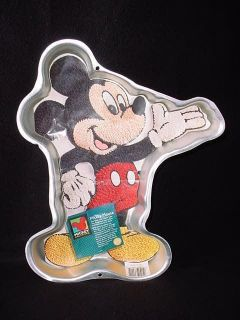 1995 Wilton Mickey Mouse Cake Pan Insert Instructions Disney Retired