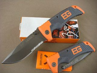 Newly listed Gerber Bear Grylls Folding Camping Hunting Survival saber
