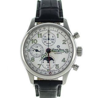 Newly listed Ernst Benz Chronolunar Automatic Stainless Steel Moon