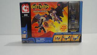 Batglider w/ Batman and Catwoman Minimates Figures C3 Construction Art