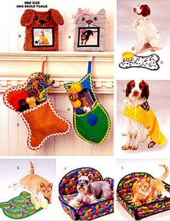 6797 Craft/Pet dog/cat frame, hat, bed, coat UC FF Pattern szOSZ