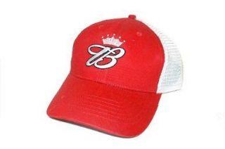 King of Beers Budweiser Trucker Hat (Red)