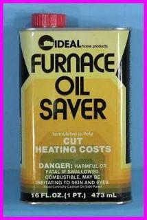 Furnace Fuel Oil Saver Efficiency Additive Saves Money Treats 275