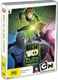 BEN TEN 10 ALIEN FORCE DVD VOLUME NINE 9 CARTOON NETWORK REGION 4 NEW