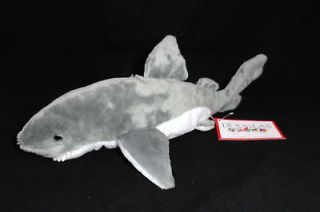NEW Douglas Cuddle Toys 14 SHARK Plush Jaws Great White TAGS