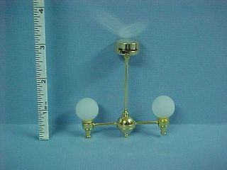 Battery Operated Light   2 Arm Lamp #CL31S Dollhouse Miniature