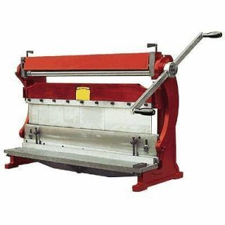 Bender   Industrial 3 in 1 Shear   Brake and Roll
