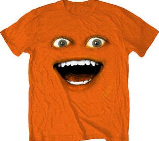 The Annoying Orange ADULT Big Face T Shirt SM MED LG XL 2XL