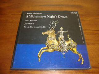 Shakespeare Recording Society A Midsummer Nights Dream