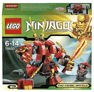 LEGO NINJAGO 70500 KAIS FIRE MECH, NEW READY TO SHIP, 2013 FINAL