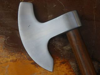 Hand Forged Custom Made 5160 Spring Steel Engineers Broad Axe