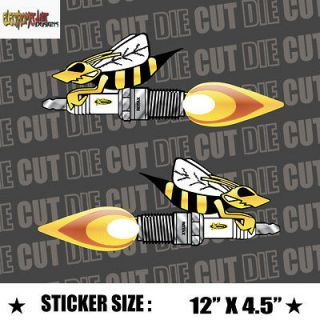 NEW* Skidoo Angry Bee Vinyl Decal Stickers rave 670 583 617 800 700
